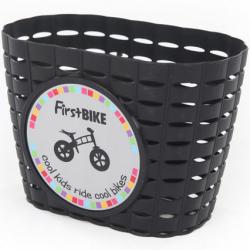 Pierwszy kosz na rower na kierownicy w kolorze czarnym