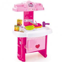 Plastikowa kuchnia dla dzieci z akcesoriami