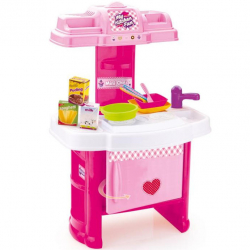 Detská kuchynka plastová s príslušenstvom