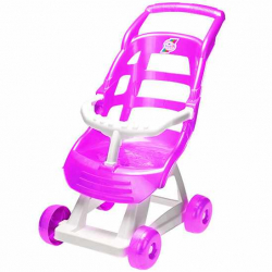 Kočík športový 47x51x30cm ružový