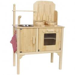 Detská drevená kuchynka Nature