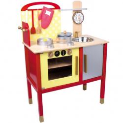 Detská kuchynka drevená 6523