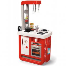Kuchyňka Bon Appetit červeno-bílá elektronická