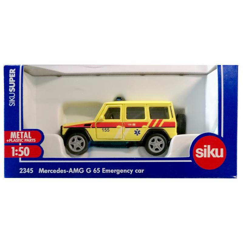 SIKU Super česká verzia - ambulancie Mercedes AMG G65