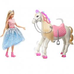 Barbie Adventure Princezná a kôň na batérie