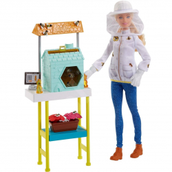 Barbie povolania herný set s bábikou