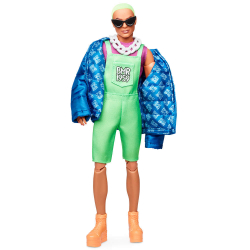 Barbie bmr1959 Ken so zelenými vlasmi módne deluxe