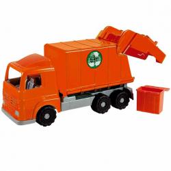 Androni Millennium popelářský vůz - délka 52 cm, oranžový