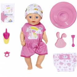 BABY born - Lalka interaktywna Soft Touch Dziewczynka 36 cm