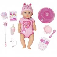 BABY born - Lalka interaktywna Soft Touch Dziewczynka 43 cm