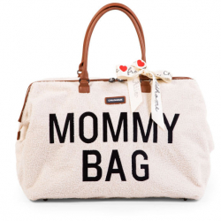 Přebalovací taška Mommy Bag Teddy Off White