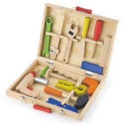 Drevené náradie v kufríku
