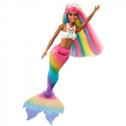 Barbie Duhová mořská panna mulatka