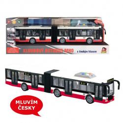 Autobus s českým hlasom na zotrvačník 44 cm
