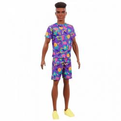 Barbie Model ken - s afro účesem