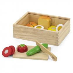 Dřevěná zelenina