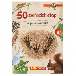 50 zvieracích stôp
