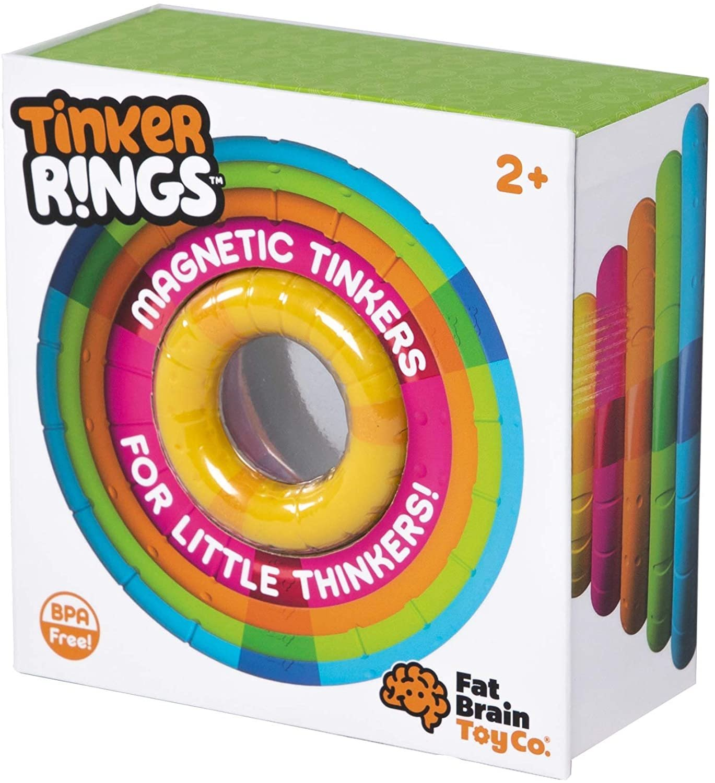 Fat Brain Magnetické krúžky TinkerRings