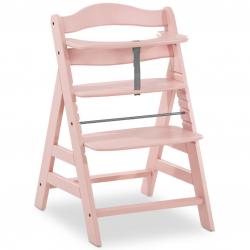 Rosnące krzesełko Alpha +  łącznie z pasami bezpieczeństwa rose