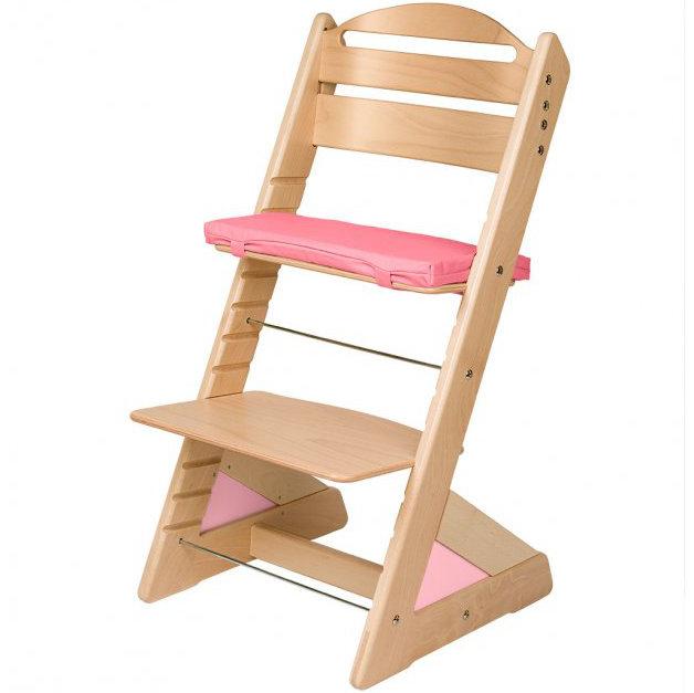 Dětská rostoucí židle JITRO PLUS přírodní