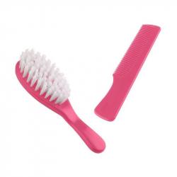 Sada kartáče a hřebenu na vlasy, Candy Pink