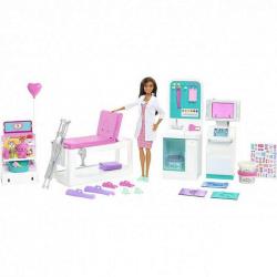 Barbie KLINIKA 1. POMOCI S DOKTORKOU HERNÍ SET