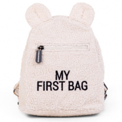 Dětský batoh My First Bag Teddy Off White