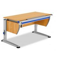 Rostoucí stůl Moll Runner se zásuvkou - barva buk