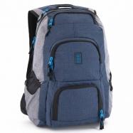 Studentský batoh Autonomy AU3 modrošedý