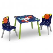 Detský stôl s stoličkami Astronaut