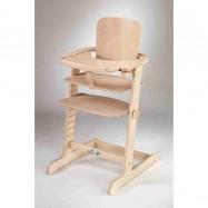 Detská rastúca stolička Family prírodná