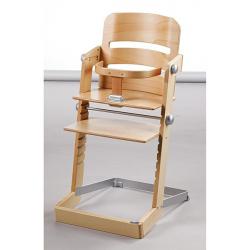 Detská rastúca stolička Tamino prírodná