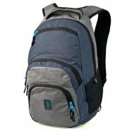 Študentský batoh Autonomy AU2 šedomodrý