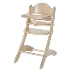 Detská rastúca stolička Swing prírodná