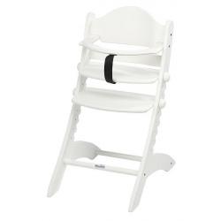 Detská rastúca stolička Swing biela