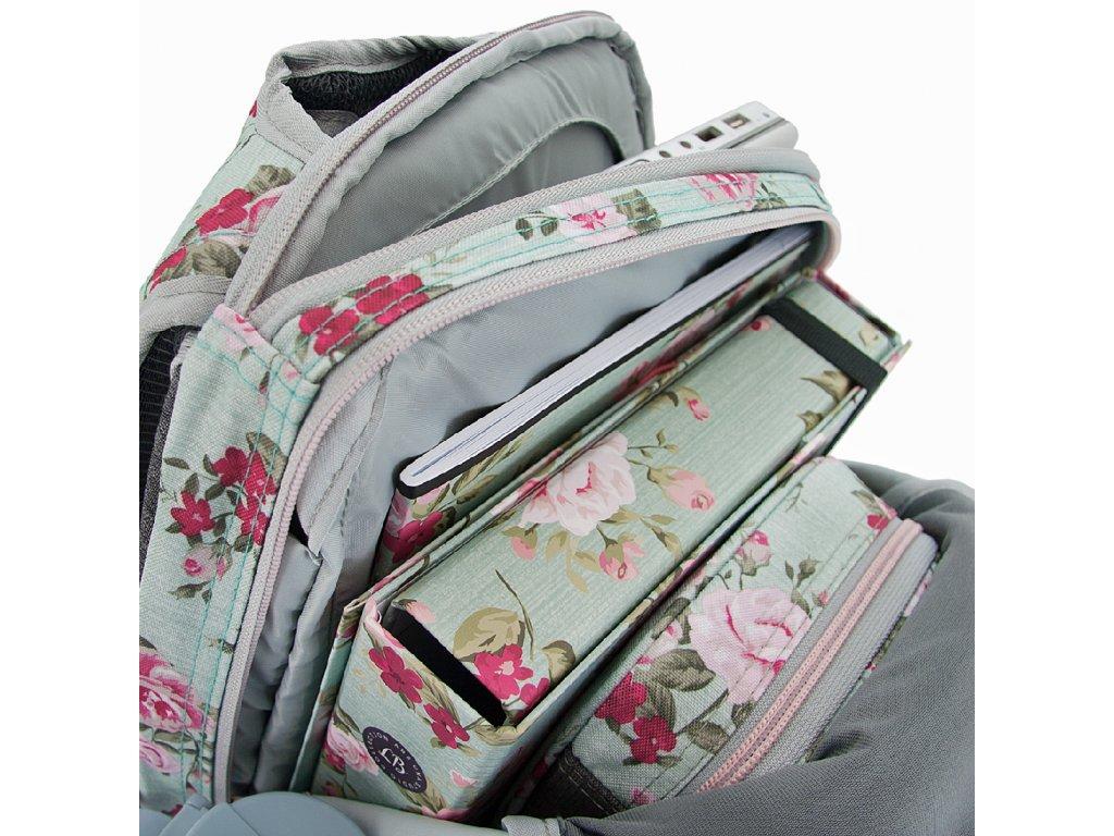 Študentský batoh Ars Una Vintage Rose AU7