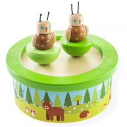 Bigjigs Toys Drevená hracia skrinka woodland