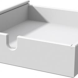 Zásuvka k písacím stolom Haba Matti biely 300175