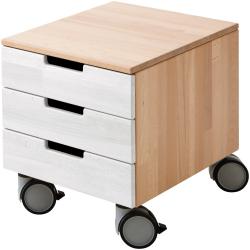 Kontejner na kółkach Haba Anderson 301229 z białymi szufladami