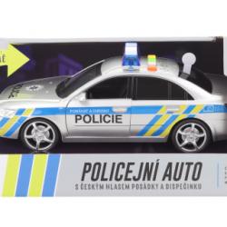 Auto policajné s českým hlasom