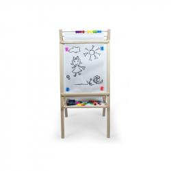 Detská magnetická tabuľa prírodný