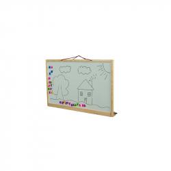 Detská tabuľa na stenu obojstranná prírodné