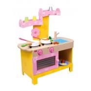 Dětská kuchyňka dřevěná Nena 1577