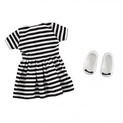 Obleček - Pruhované šaty