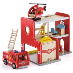 Drevená hasičská stanica