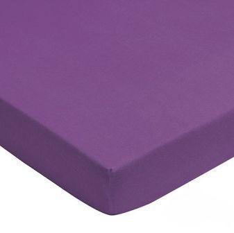 Prostěradlo jersay Jollein 120 x 60 cm fialová