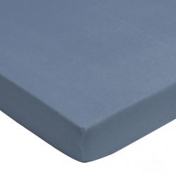 Prostěradlo jersay Jollein 120 x 60 cm modrá