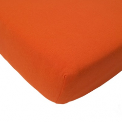 Prostěradlo froté Jollein 120 x 60 cm oranžová