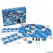 Dřevěná hra Zachraňte tučňáky