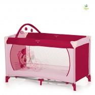 Łóżeczko turystyczne Dream'n Play Minnie pink II